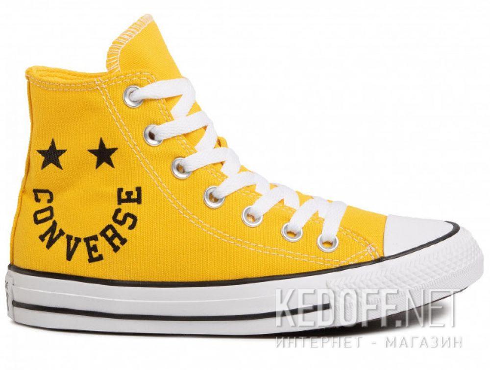 Женские кеды Converse Chuck Taylor All Star Hi Amarillo 167070C купить Украина