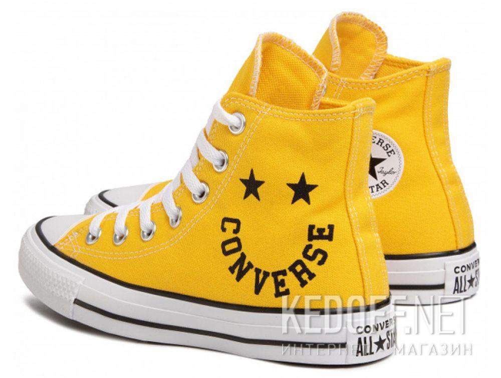 Женские кеды Converse Chuck Taylor All Star Hi Amarillo 167070C купить Киев