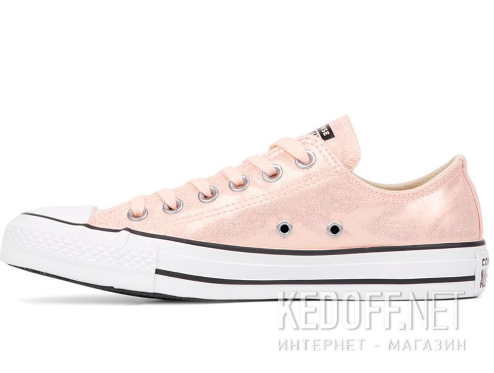 Оригинальные Женские кеды Converse Chuck Taylor All Star Ox Washed Coral/Black/White 563412C