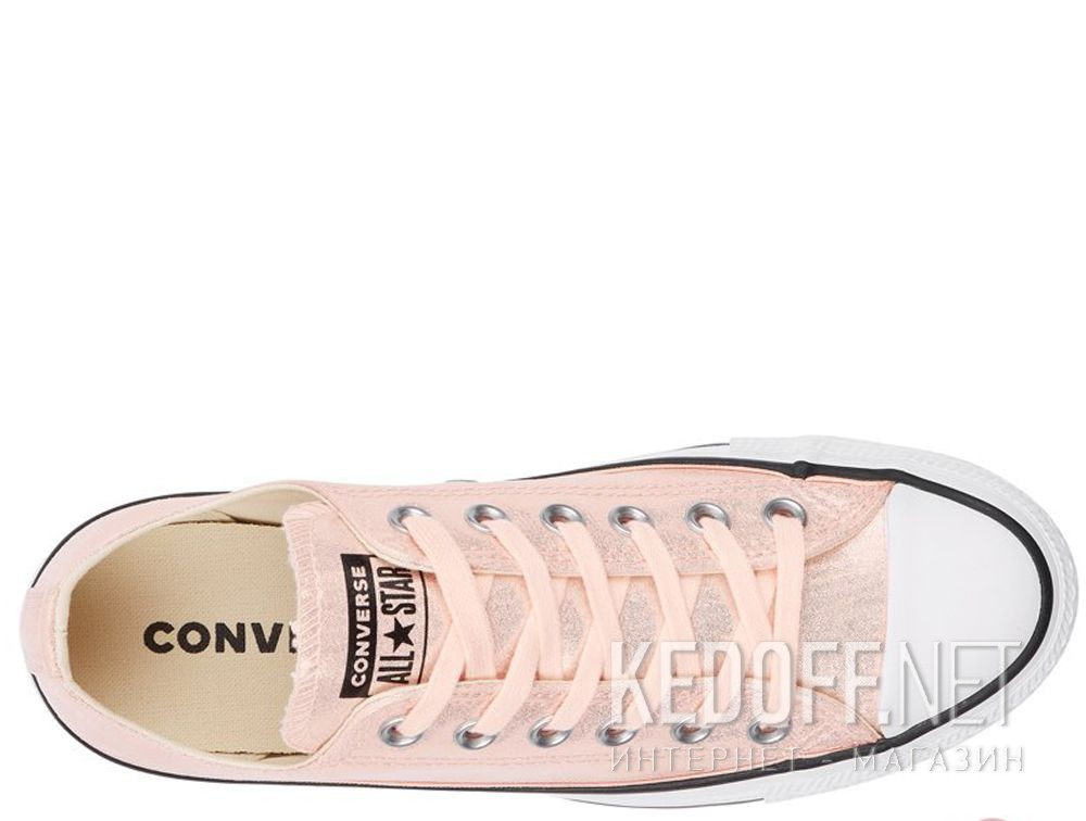 Женские кеды Converse Chuck Taylor All Star Ox Washed Coral/Black/White 563412C описание