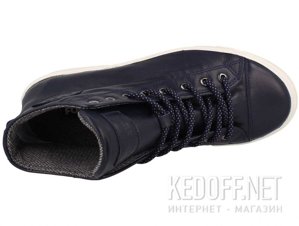 Leather shoes Forester Original High 132125-899 описание