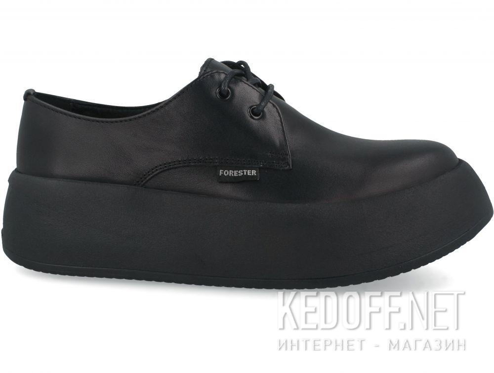 Женские кеды Forester Platform Black 21165-01 купить Украина