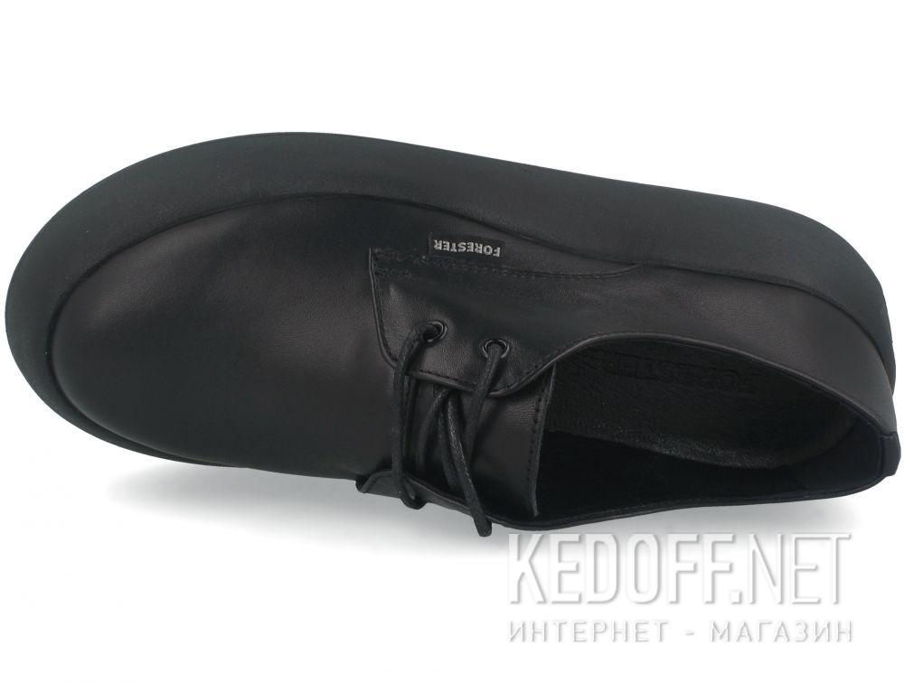 Женские кеды Forester Platform Black 21165-01 описание