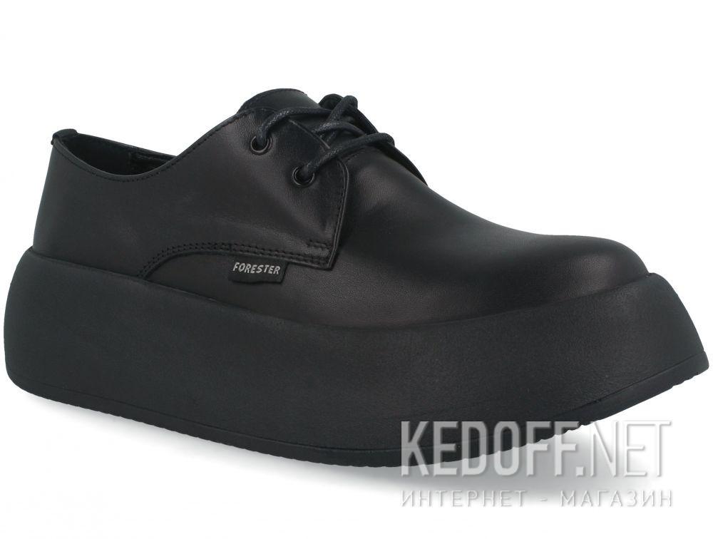 Купить Женские кеды Forester Platform Black 21165-01