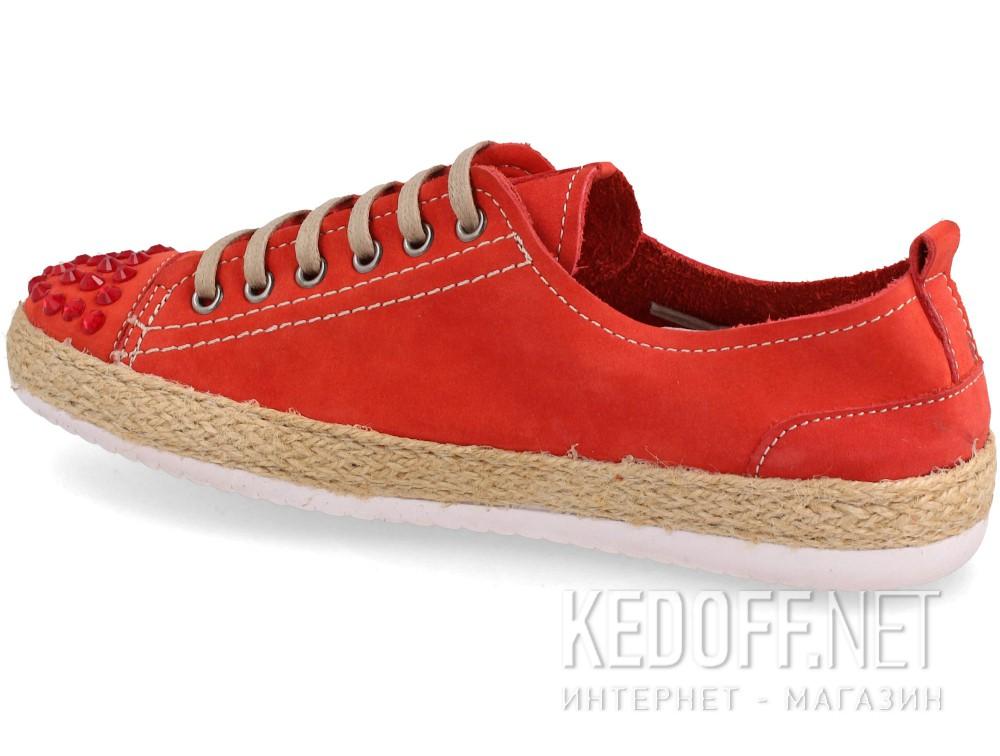 Женские полукеды Las Espadrillas 210111-47   (красный) купить Украина