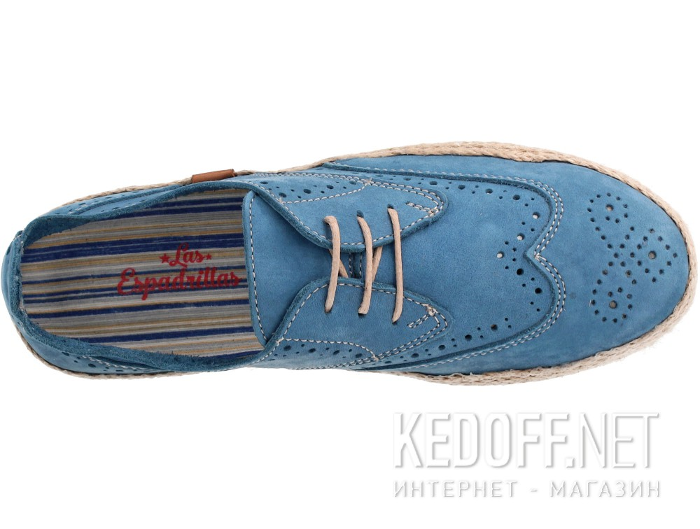 Женские кеды Las Espadrillas 10112-40   (синий) купить Киев