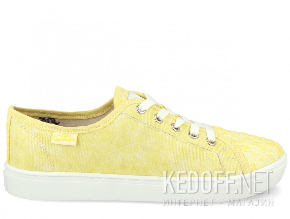 Кеды Las Espadrillas 5099-21 (жёлтый) купить Украина