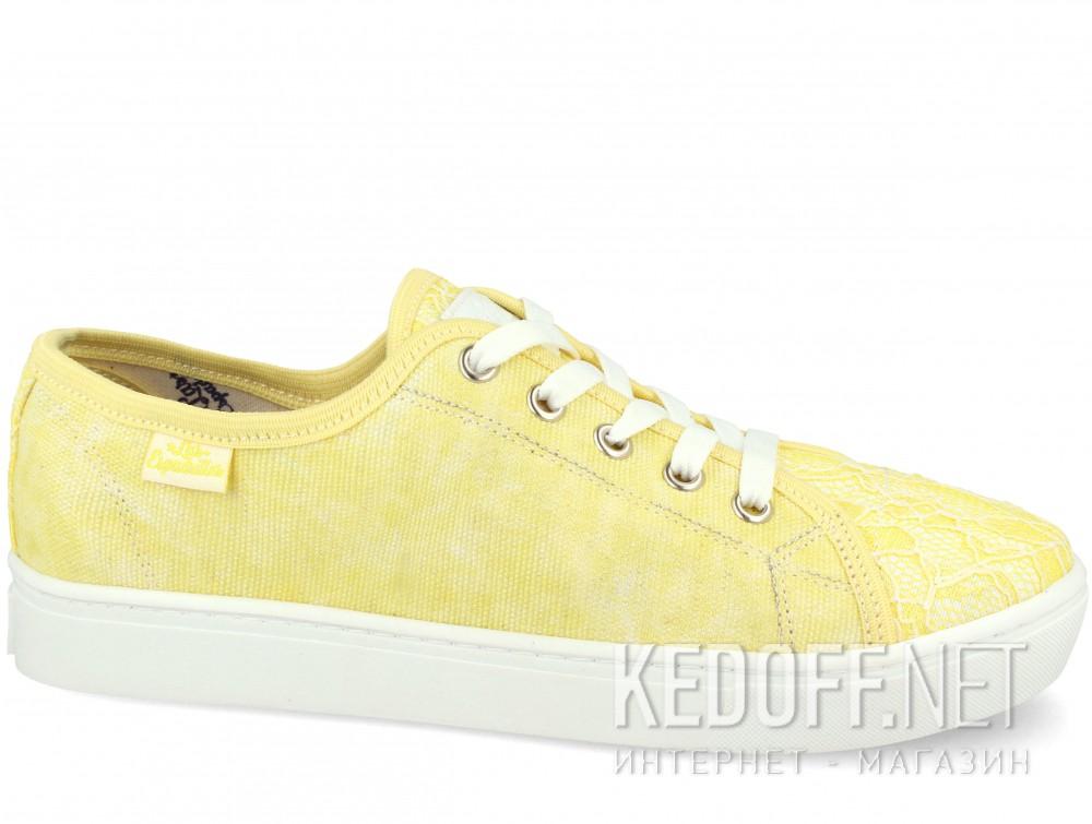 Купить Кеды Las Espadrillas 5099-21 (жёлтый)