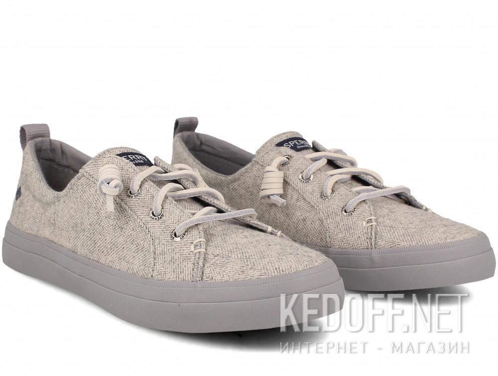 Оригинальные Женские кеды Sperry Crest SP-99506    (серый)