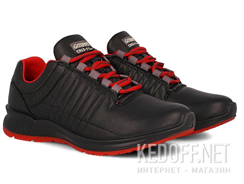 Оригинальные Кожаные кроссовки Grisport Ergo Flex 42811A63 Made in Italy