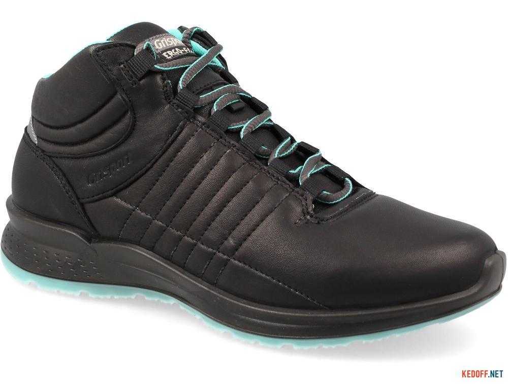Women's sneakers low boots grisport 42813D16 Black leather