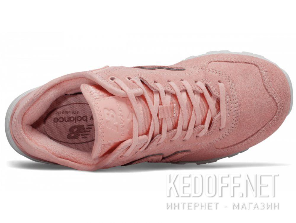 Женские кроссовки New Balance WH574BA Пудровые описание