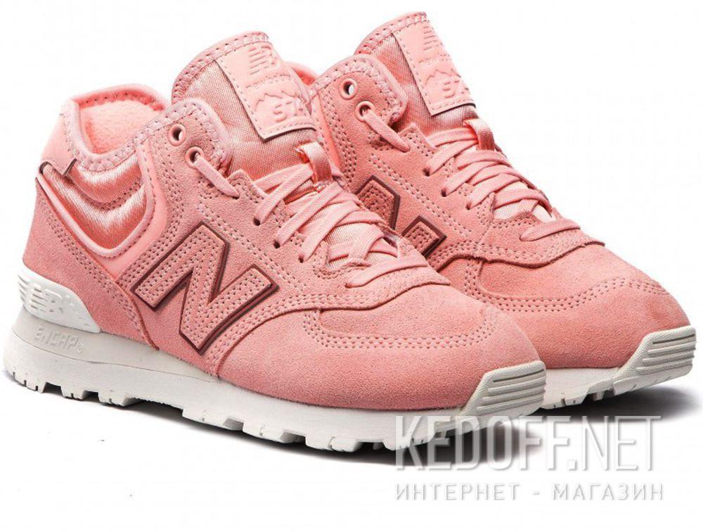 Женские кроссовки New Balance WH574BA Пудровые купить Украина