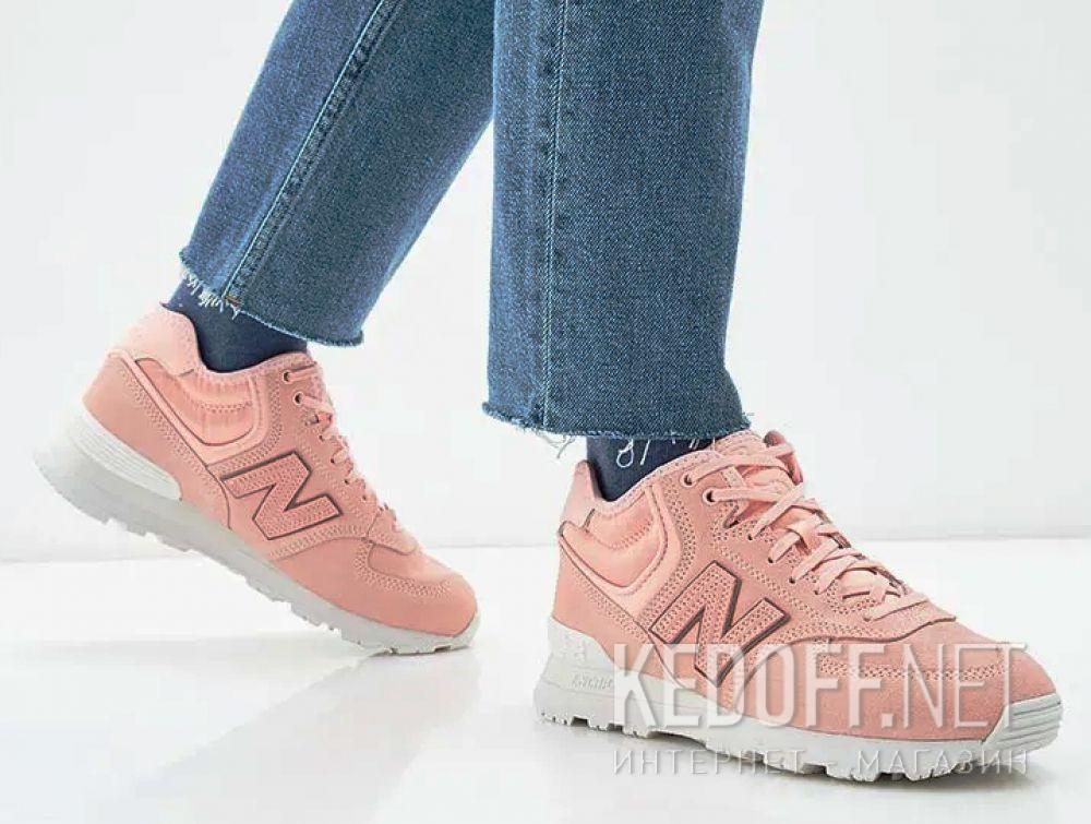 Женские кроссовки New Balance WH574BA Пудровые все размеры