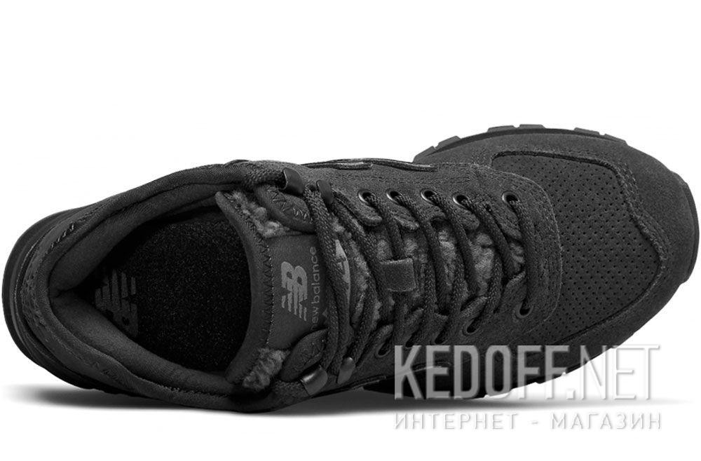 Чёрные кроссовки New Balance WH574BG описание