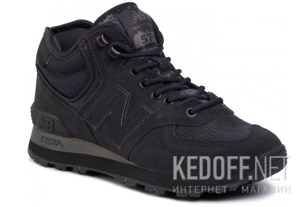 Купить Чёрные кроссовки New Balance WH574BG