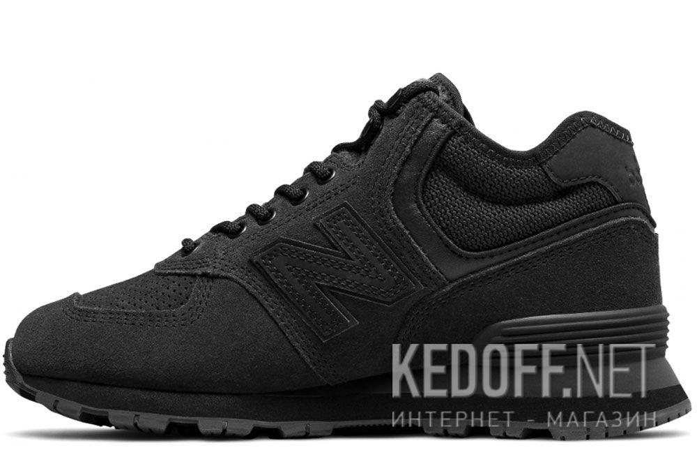 Чёрные кроссовки New Balance WH574BG купить Киев