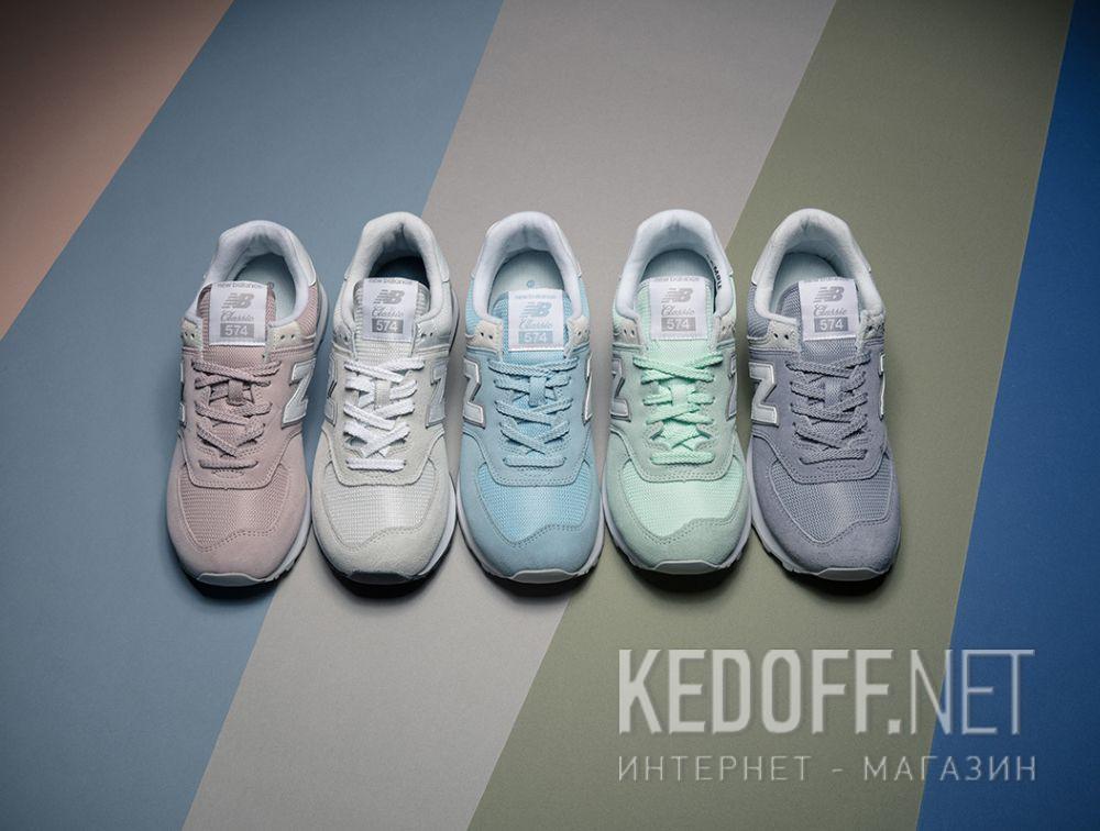 Женские кроссовки New Balance WL574EW все размеры