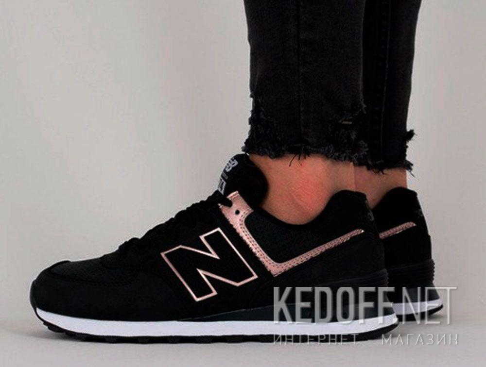 Цены на Женские кроссовки New Balance WL574NBK