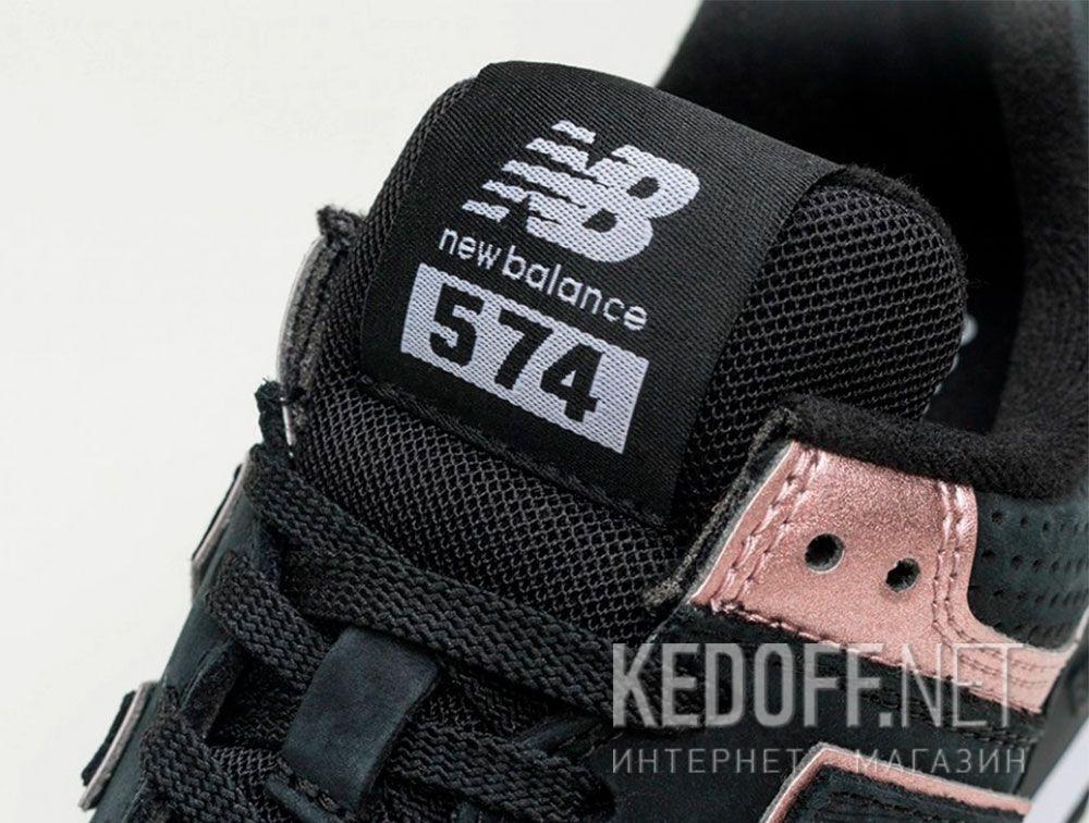 Женские кроссовки New Balance WL574NBK все размеры