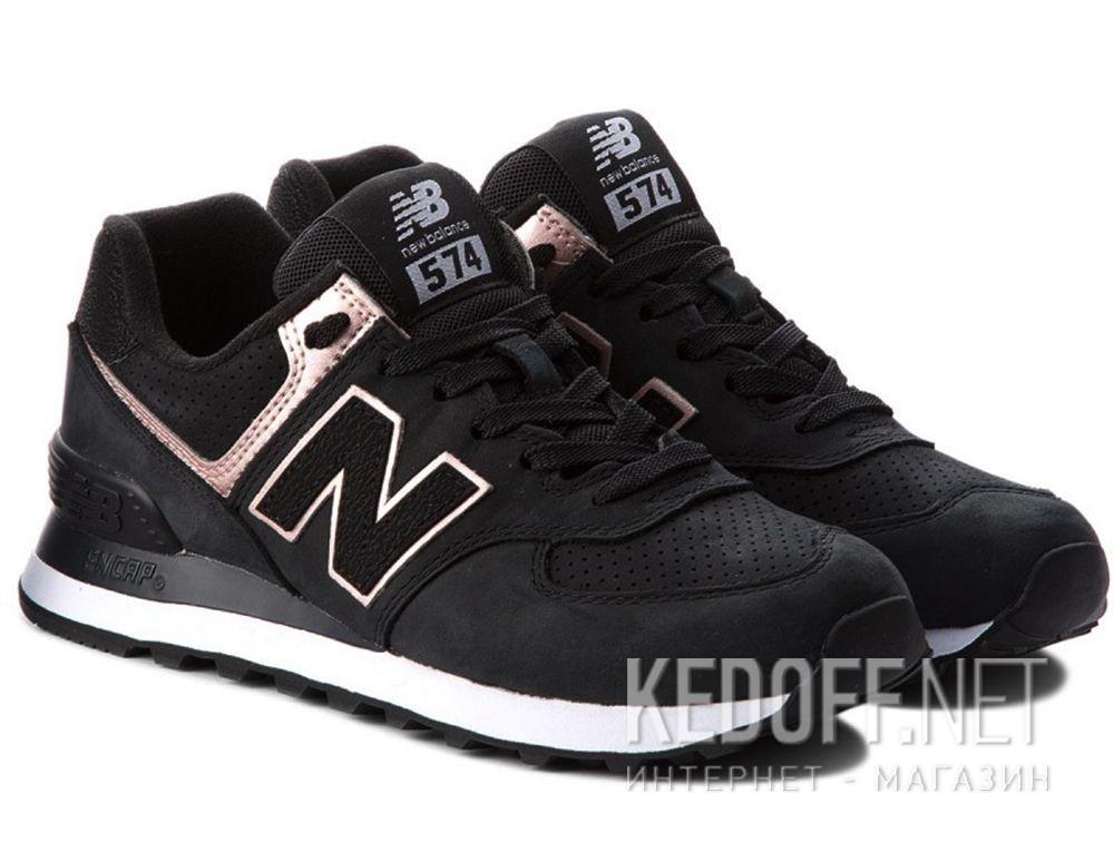 Женские кроссовки New Balance WL574NBK купить Украина