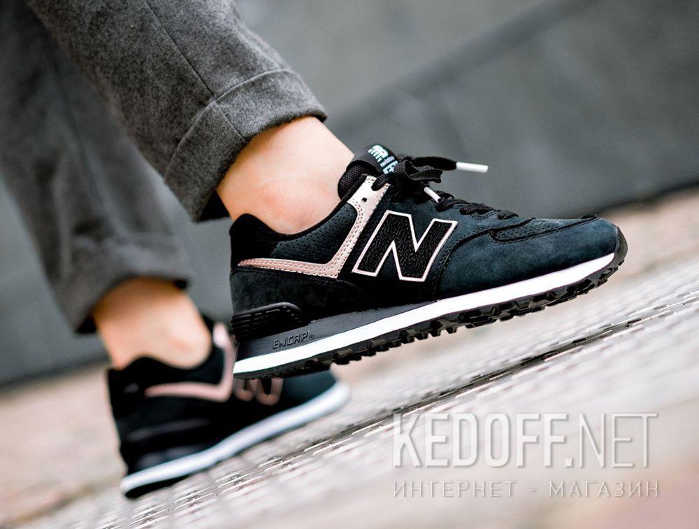 Доставка Женские кроссовки New Balance WL574NBK