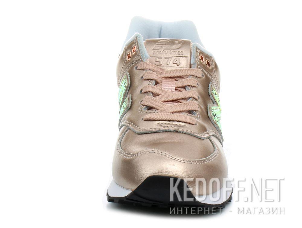 Оригинальные Женские кроссовки New Balance WL574NRG