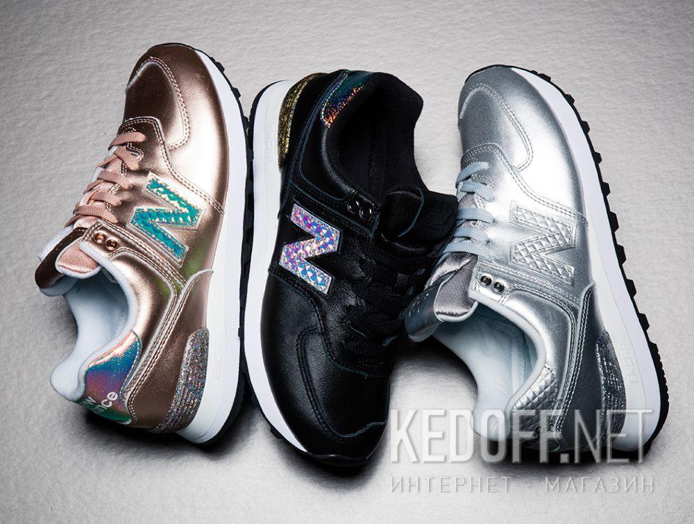 Женские кроссовки New Balance WL574NRI доставка по Украине