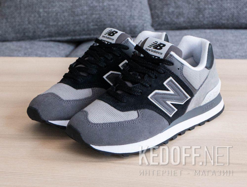 Серые кроссовки New Balance WL574WU2 все размеры