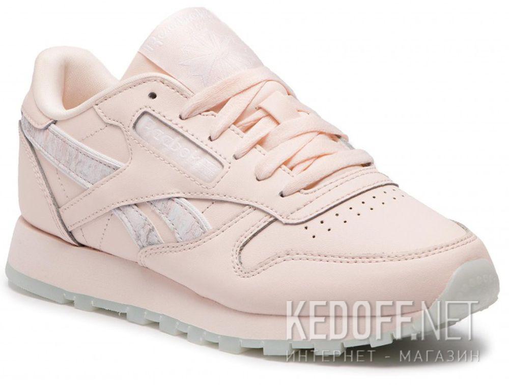 2674fa69b8e9b5 Жіночі кросівки Reebok Classic Leather DV3729 Pink в магазині взуття ...