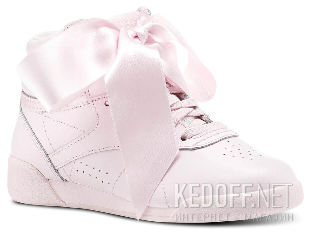 Купить Женские кроссовки Reebok Freestyle Hi Steals Hearts Hi Satin Bow CM8905