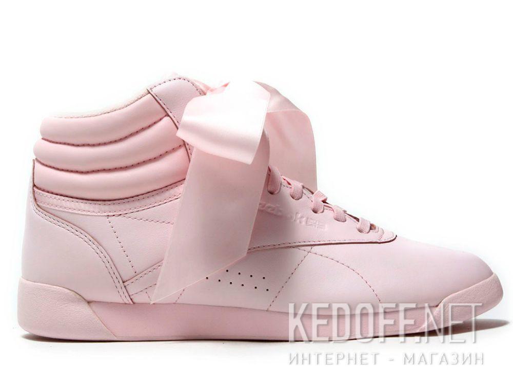 7b25a13513169 Оригинальные Women Reebok sneakers Freestyle Hi Steals Hearts Hi Satin Bow  CM8905