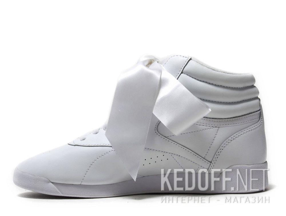 Оригинальные Женские кроссовки Reebok Freestyle Hi Satin Bow CM8903
