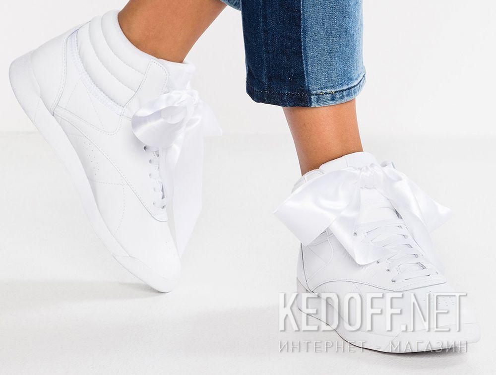 Цены на Женские кроссовки Reebok Freestyle Hi Satin Bow CM8903