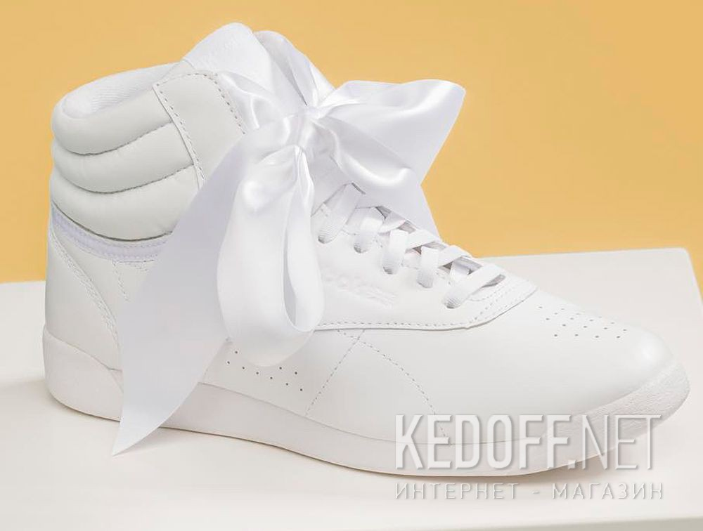 ee65d33588c09 Women Reebok sneakers Freestyle Hi Satin Bow CM8903