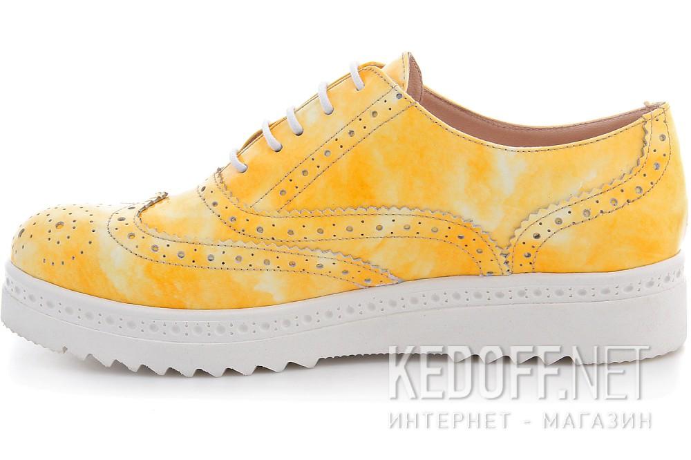Туфли Las Espadrillas 02100-15 унисекс   (жёлтый) купить Украина