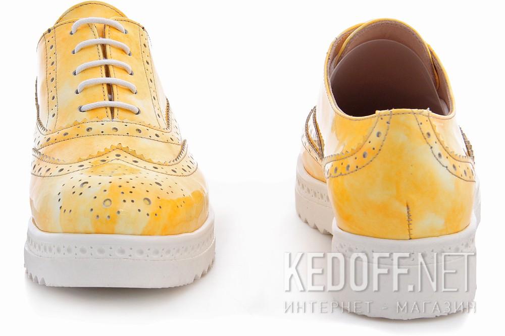 Туфли Las Espadrillas 02100-15 унисекс   (жёлтый) купить Киев