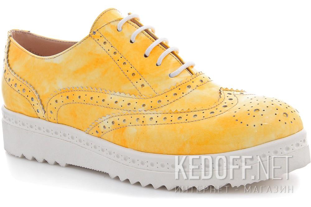 Купить Туфли Las Espadrillas 02100-15 унисекс   (жёлтый)