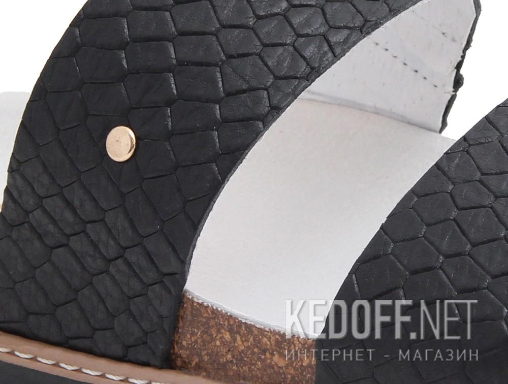 Медицинская обувь Las Espadrillas 07-0270-001  (чёрный) купить Киев
