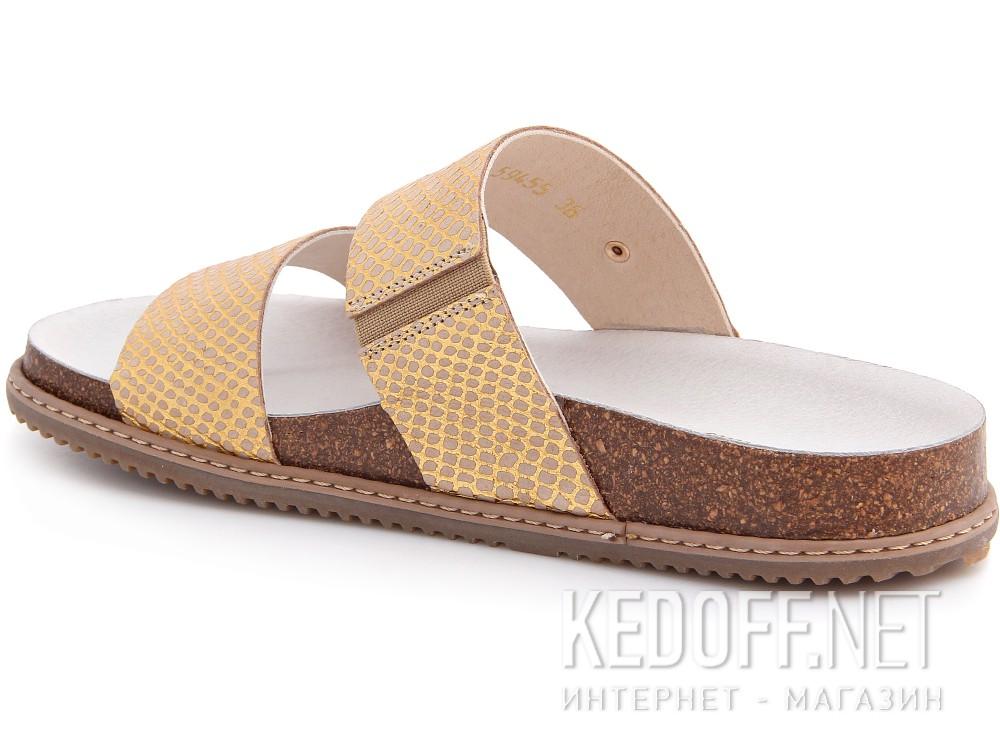 Медична взуття Las Espadrillas 07-0270-004 (злотистий/бежевий) купити Україна