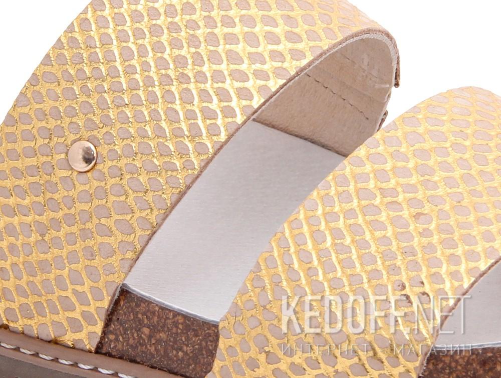 Медична взуття Las Espadrillas 07-0270-004 (злотистий/бежевий) купить Киев