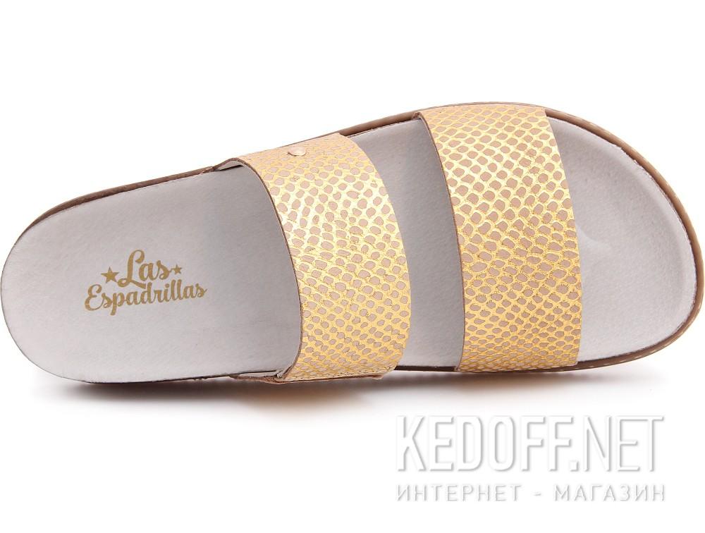 Медична взуття Las Espadrillas 07-0270-004 (злотистий/бежевий) описание