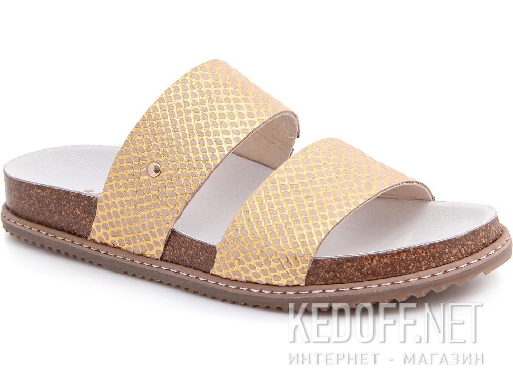 Купити Медична взуття Las Espadrillas 07-0270-004 (злотистий/бежевий)