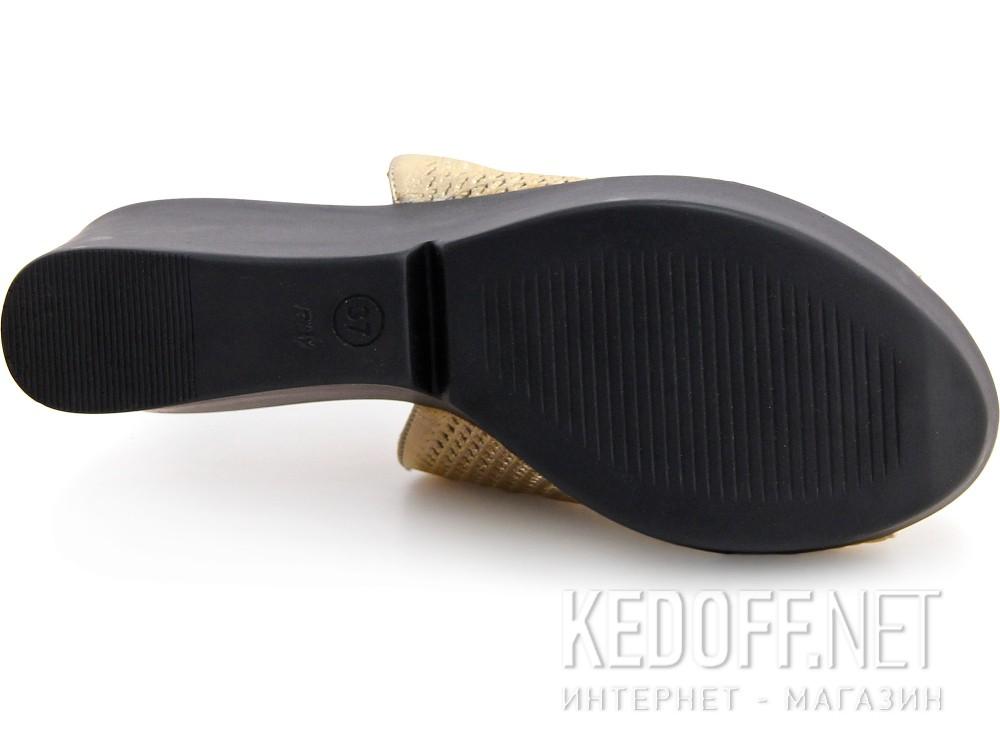 Женские сабо Las Espadrillas 28233-79 (золотистий) купить Киев