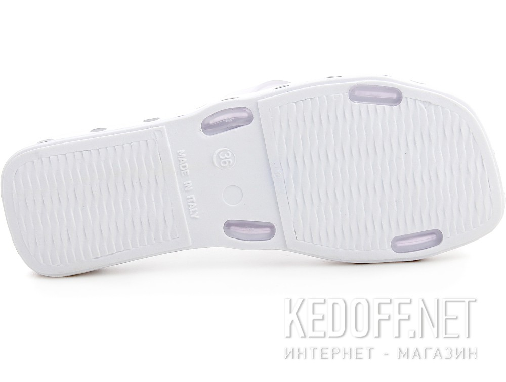 Women's Slippers Las Espadrillas Ponza 7108-1327 Pois Made in Italy