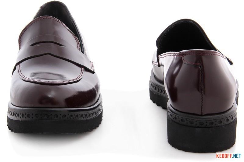 Women's loafers Las Espadrillas Marsala Lak 02101-48