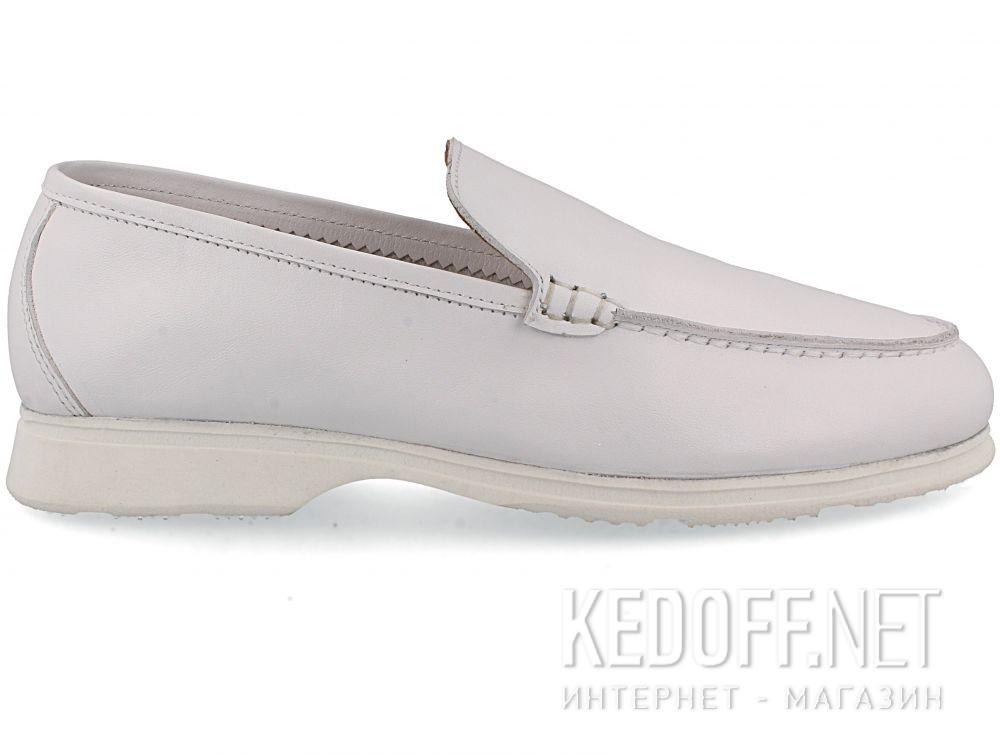Женские мокасины Las Espadrillas Soft Leather 417-13 Optical White купить Киев