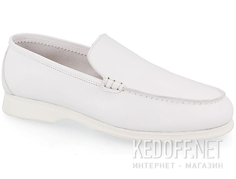 Купить Женские мокасины Las Espadrillas Soft Leather 417-13 Optical White