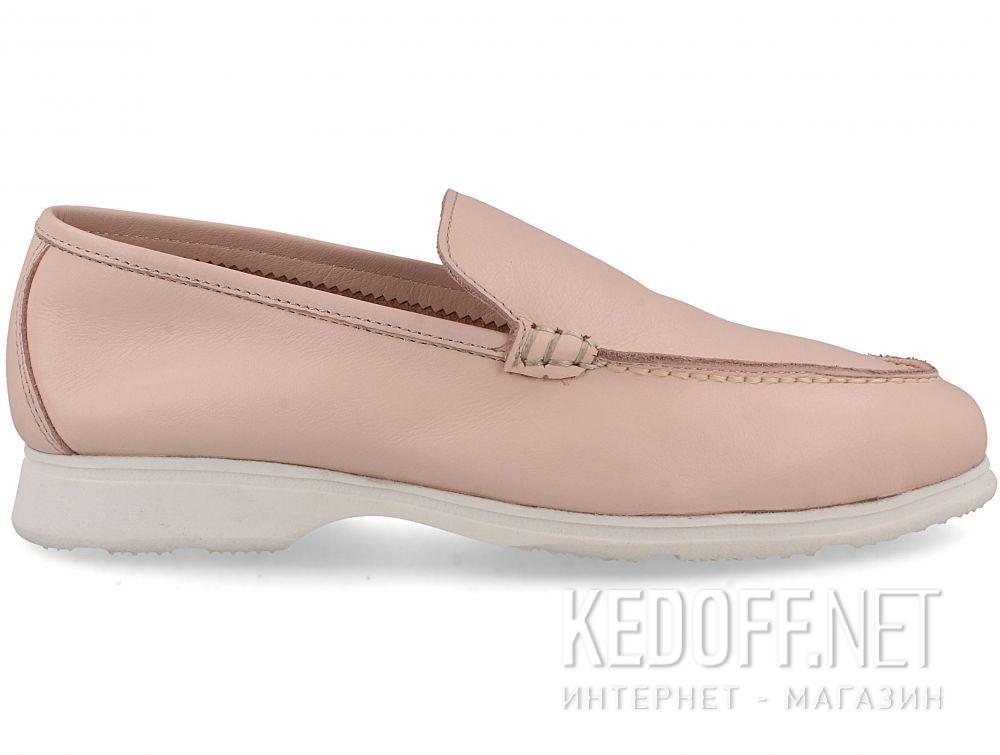 Жіночі мокасини Las Espadrillas Soft Leather 417-34 Pudra купить Киев