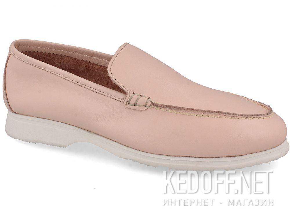 Женские мокасины Las Espadrillas Soft Leather 417-34 Pudra